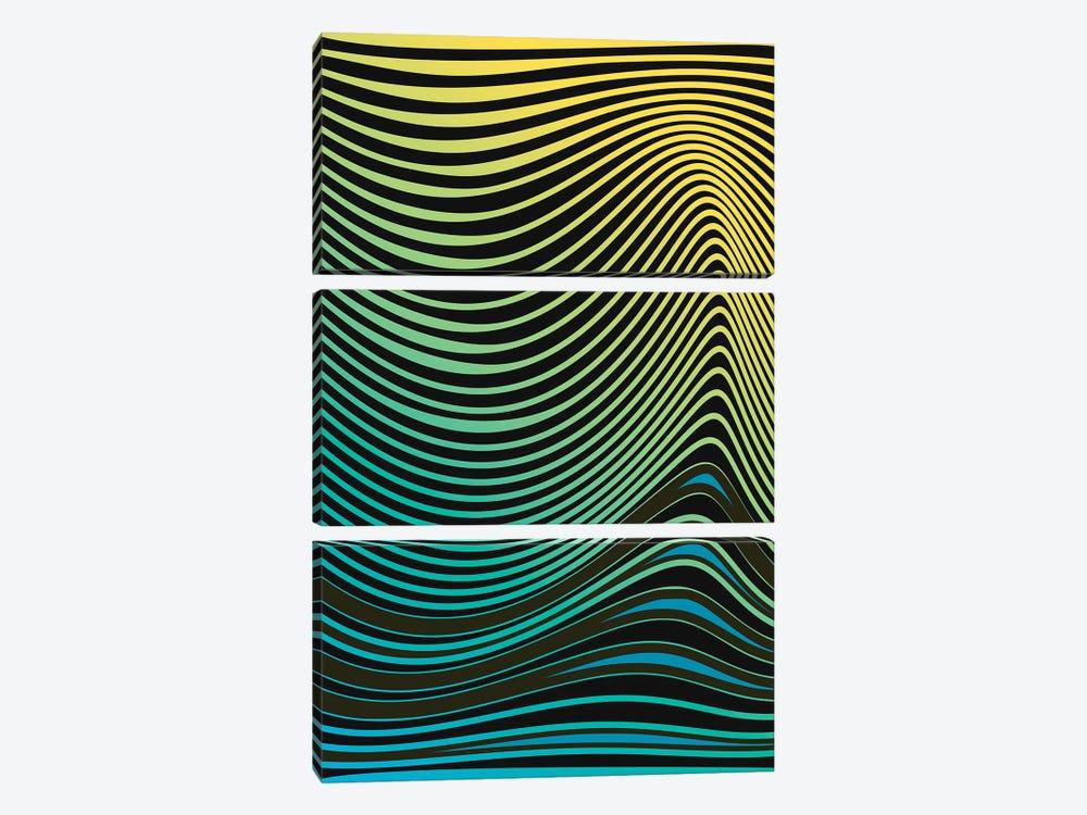 Hypnotic by Angel Estevez 3-piece Art Print