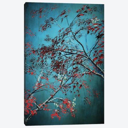 Red Trees Canvas Print #AEZ46} by Angel Estevez Canvas Wall Art