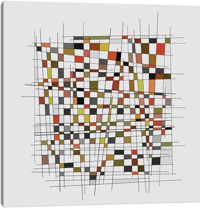 Mondrian Wink II Canvas Art Print