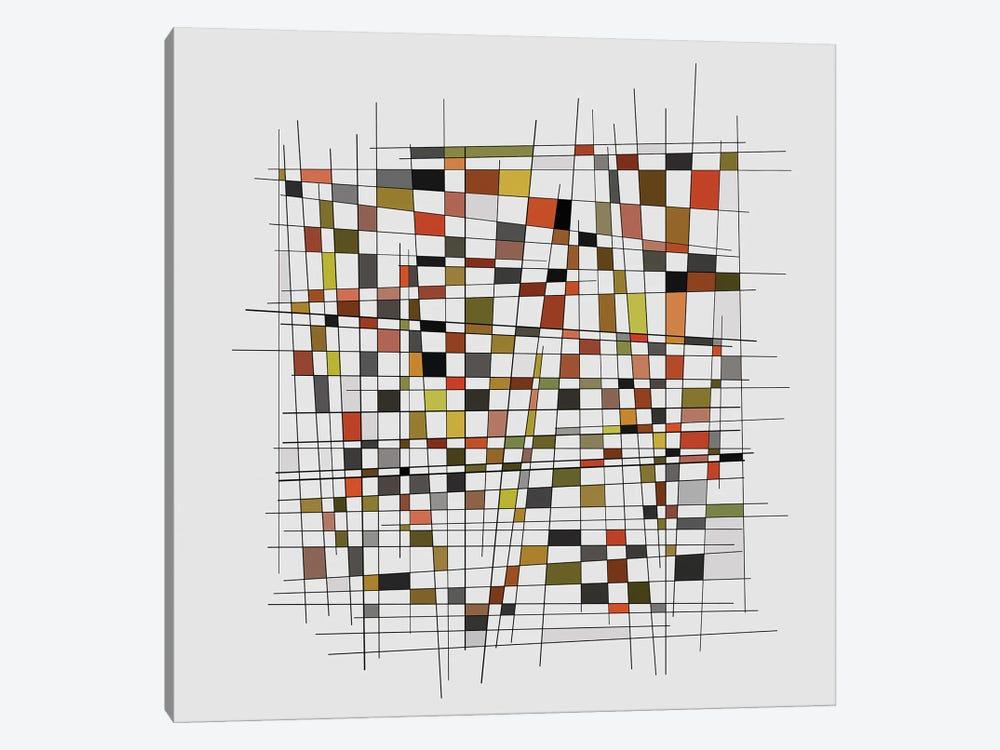 Mondrian Wink II by Angel Estevez 1-piece Canvas Wall Art
