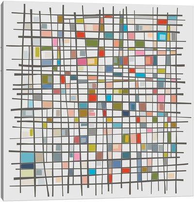 Mondrian Wink III Canvas Art Print