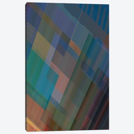 Multiple Colored Lines III Canvas Print #AEZ475} by Angel Estevez Canvas Print