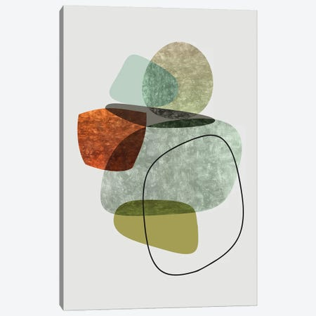 Overlapping and Transparent Parts II Canvas Print #AEZ484} by Angel Estevez Canvas Wall Art