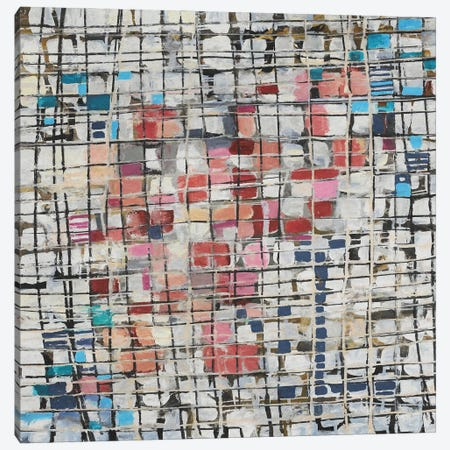 Rectangles and Squares Canvas Print #AEZ486} by Angel Estevez Canvas Art