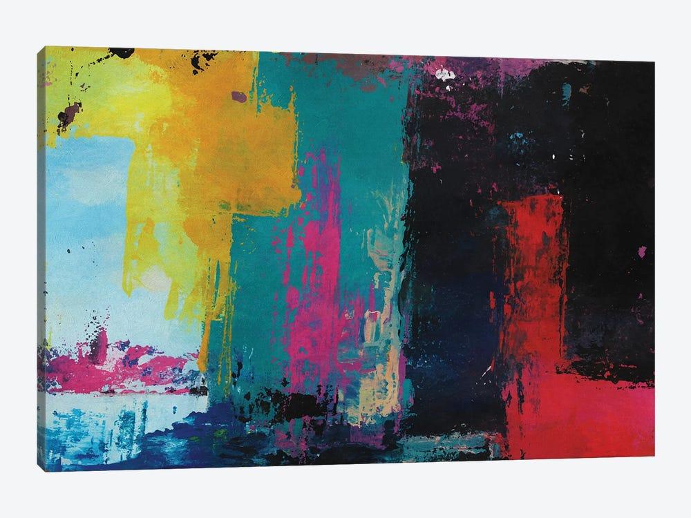Rustic Geometric III by Angel Estevez 1-piece Canvas Print