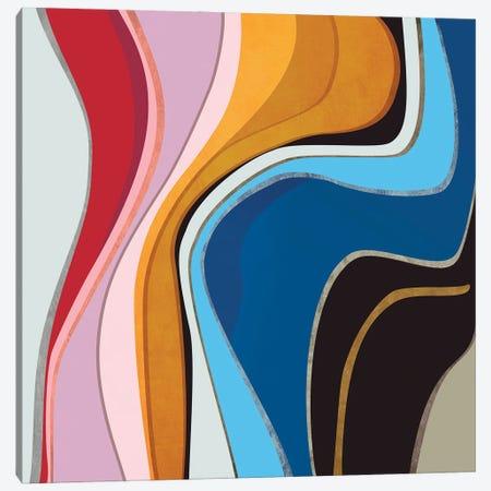 Sinuous Shapes IV Canvas Print #AEZ490} by Angel Estevez Canvas Artwork