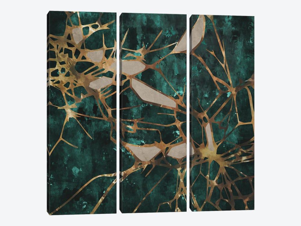 Twigs and Leaves by Angel Estevez 3-piece Art Print