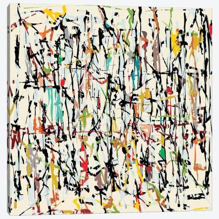Pollock Wink IV Canvas Print #AEZ498} by Angel Estevez Canvas Art