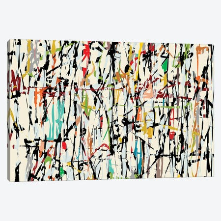 Pollock Wink V Canvas Print #AEZ499} by Angel Estevez Canvas Wall Art