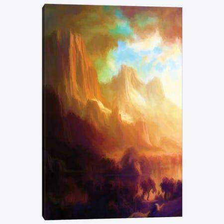 Romantic Landscape Canvas Print #AEZ49} by Angel Estevez Canvas Print