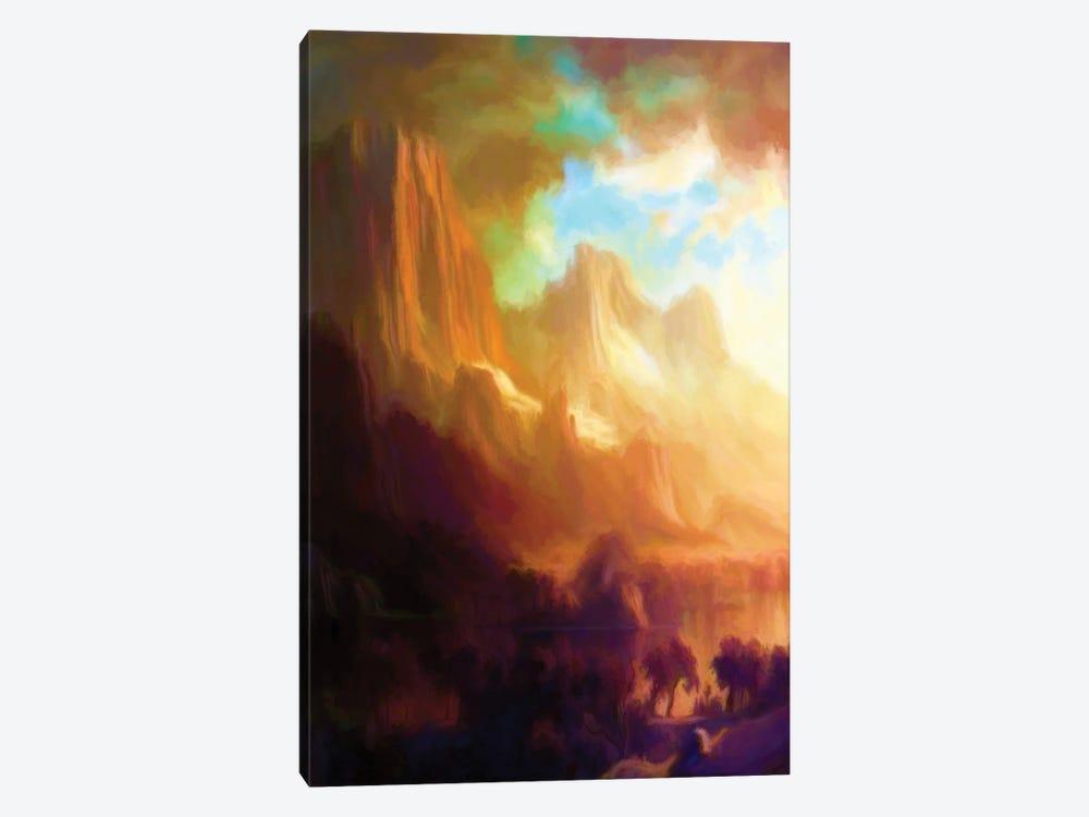 Romantic Landscape by Angel Estevez 1-piece Canvas Art
