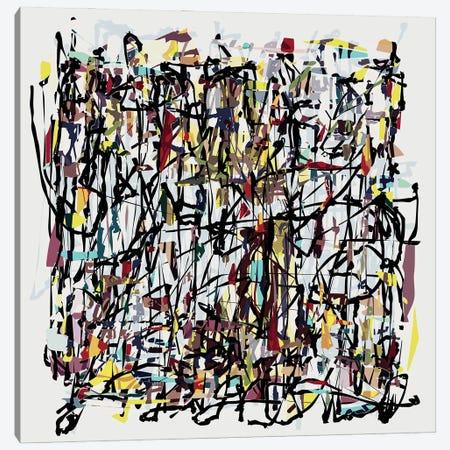 Pollock Wink VI Canvas Print #AEZ500} by Angel Estevez Canvas Art