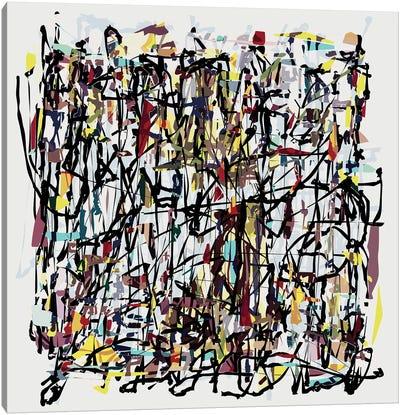 Pollock Wink VI Canvas Art Print