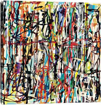Pollock Wink VII Canvas Art Print