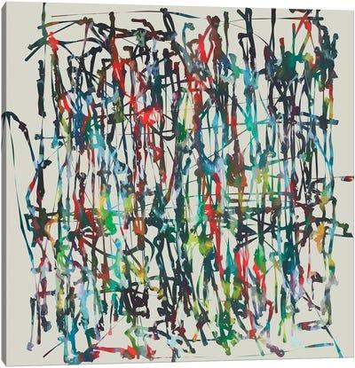 Pollock Wink Xi Canvas Art Print