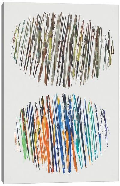 Fragmented Parts Canvas Art Print