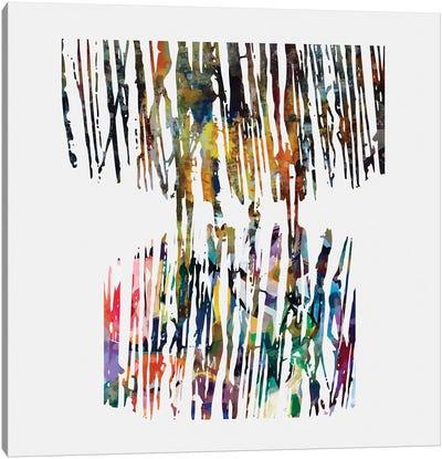 Fragmented Parts II Canvas Art Print