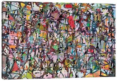 Pollock Wink XII Canvas Art Print