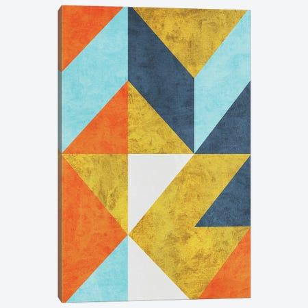 Geometric With Triangles II Canvas Print #AEZ548} by Angel Estevez Canvas Art