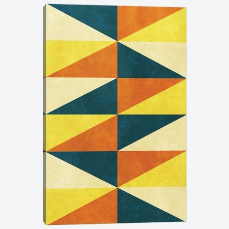 Geometric With Triangles III Canvas Print #AEZ549} by Angel Estevez Canvas Wall Art