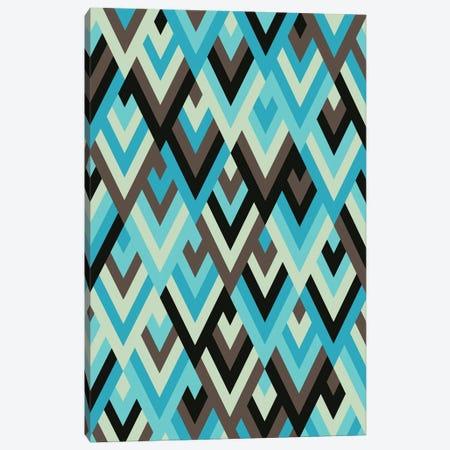 Geometric With Triangles IV Canvas Print #AEZ550} by Angel Estevez Canvas Print