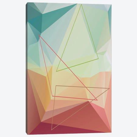 Interconnected Triangles XVIII Canvas Print #AEZ562} by Angel Estevez Canvas Art