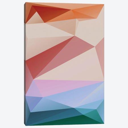 Interconnected Triangles XX Canvas Print #AEZ564} by Angel Estevez Canvas Print