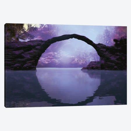 The Bridge Canvas Print #AEZ57} by Angel Estevez Canvas Art Print