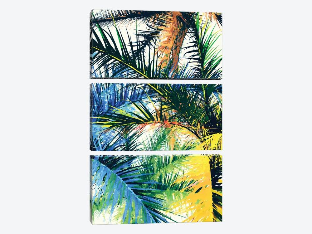 Tropical Foliage by Angel Estevez 3-piece Canvas Art Print