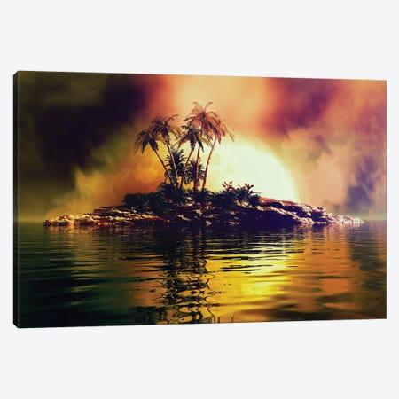 Tropical Islet Canvas Print #AEZ60} by Angel Estevez Canvas Print