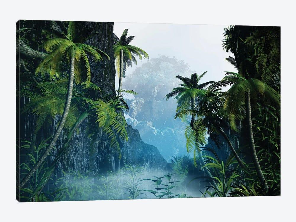 Tropical Landscape I by Angel Estevez 1-piece Canvas Wall Art