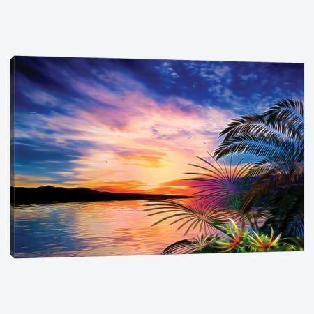 Tropical Landscape II Canvas Print #AEZ62} by Angel Estevez Art Print