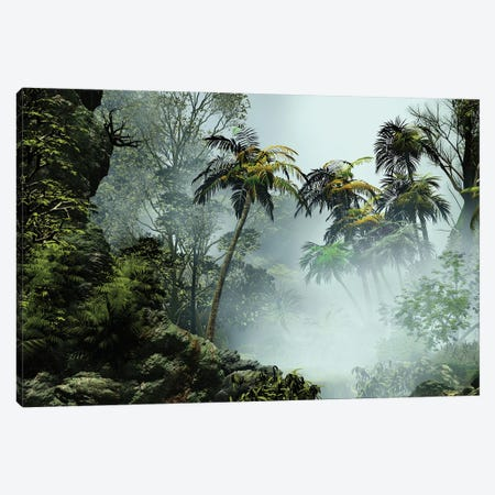 Tropical Scenery I Canvas Print #AEZ63} by Angel Estevez Canvas Art Print