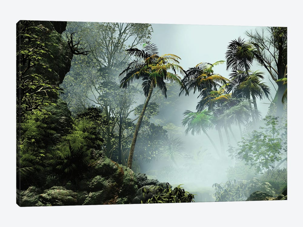 Tropical Scenery I by Angel Estevez 1-piece Canvas Wall Art