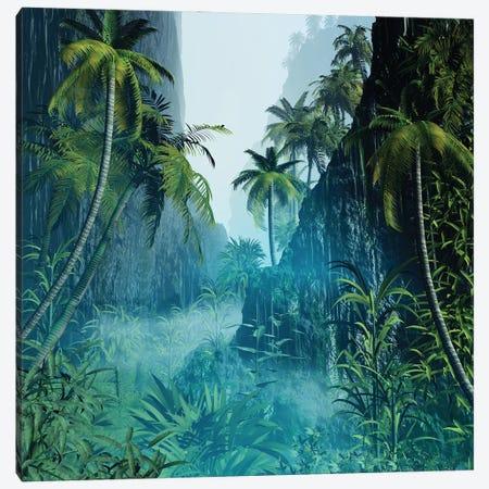 Tropical Scenery II Canvas Print #AEZ64} by Angel Estevez Canvas Wall Art