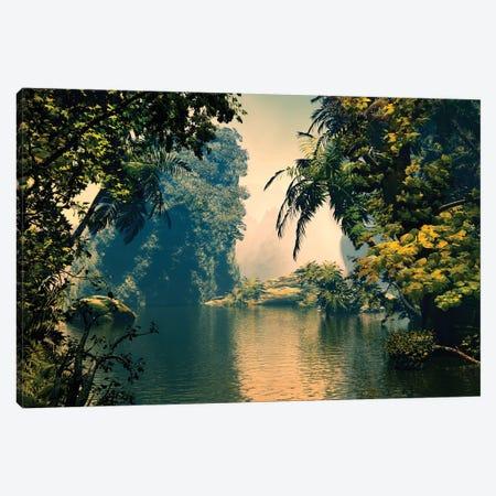 Tropical Scenery III Canvas Print #AEZ65} by Angel Estevez Canvas Artwork