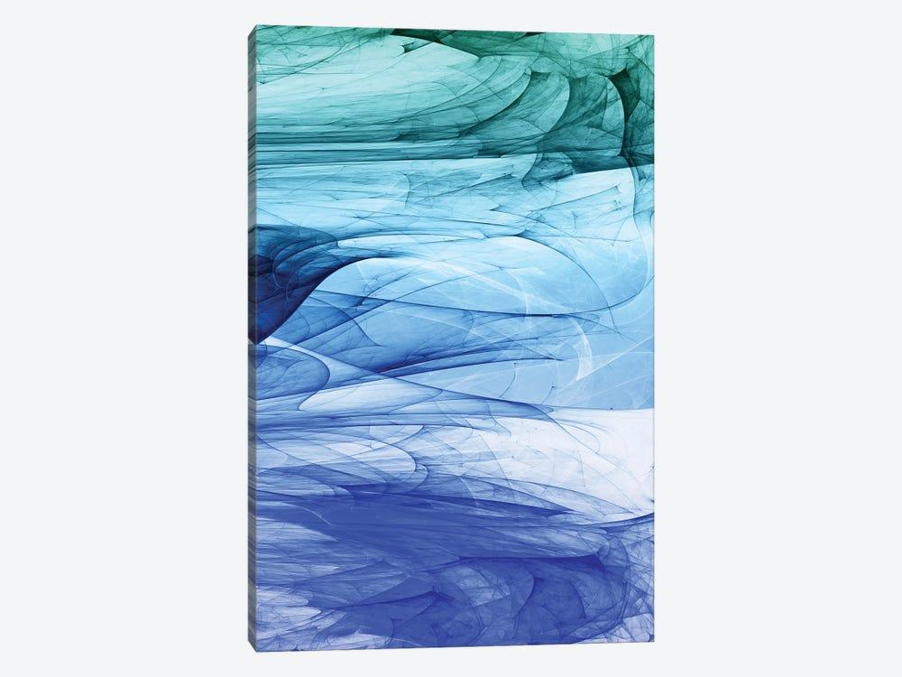 Colors Of The Sea by Angel Estevez 1-piece Canvas Print