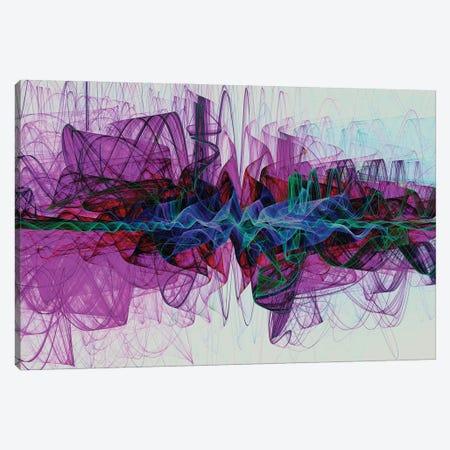 Dashing Shapes Canvas Print #AEZ67} by Angel Estevez Canvas Artwork