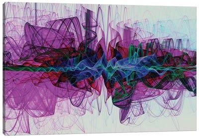 Dashing Shapes Canvas Art Print