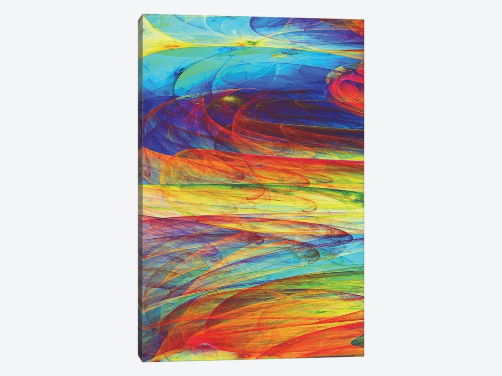 Ink Fluid by Angel Estevez 1-piece Canvas Art Print