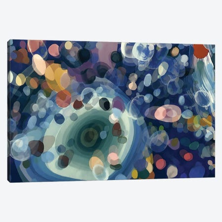 Particles Seen With Microscopic Canvas Print #AEZ72} by Angel Estevez Canvas Artwork
