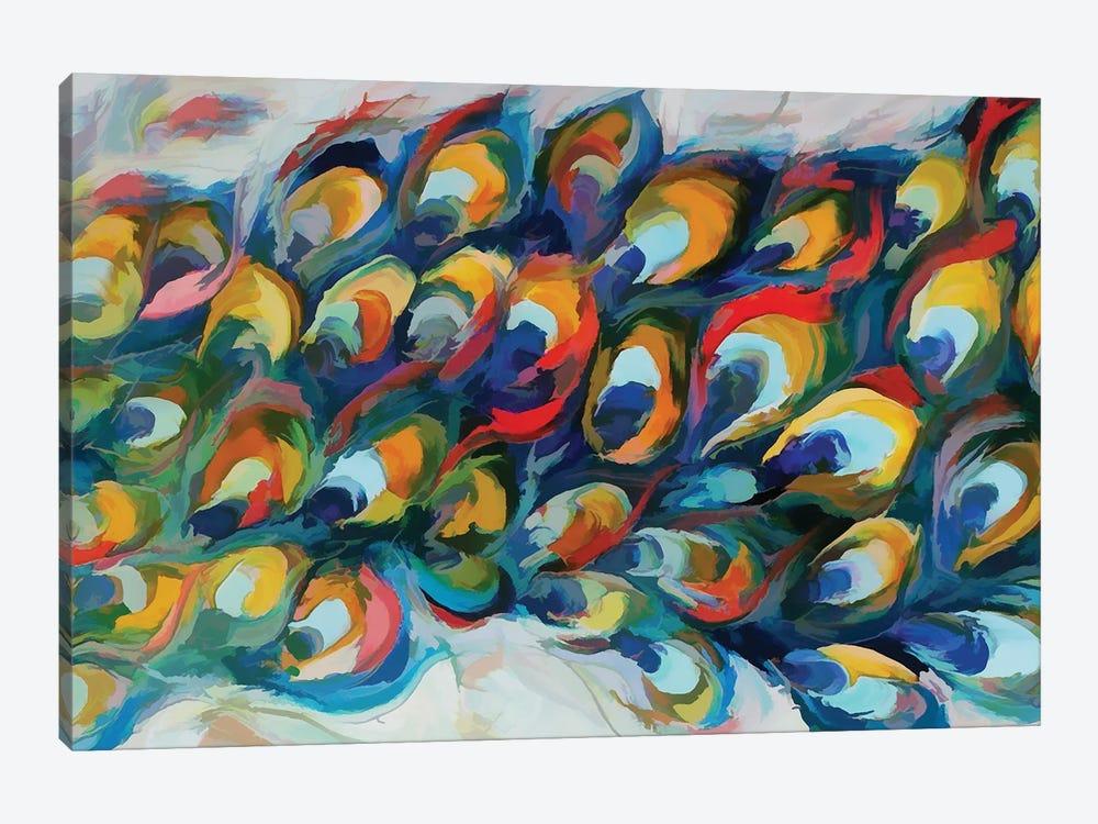 Peacock Tail by Angel Estevez 1-piece Art Print