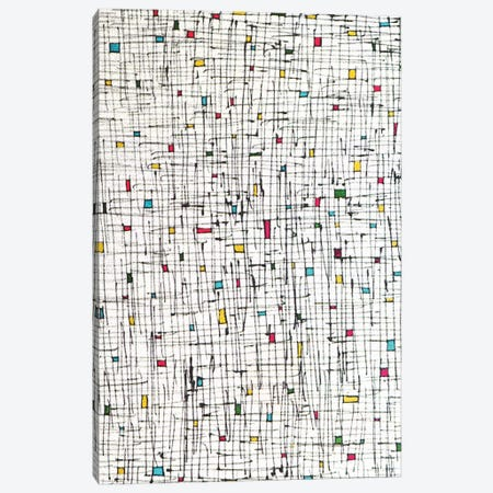 Tiny Rectangles And Squares Canvas Print #AEZ74} by Angel Estevez Canvas Art Print