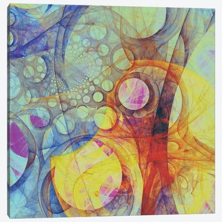 Moving Circles II Canvas Print #AEZ76} by Angel Estevez Canvas Art Print