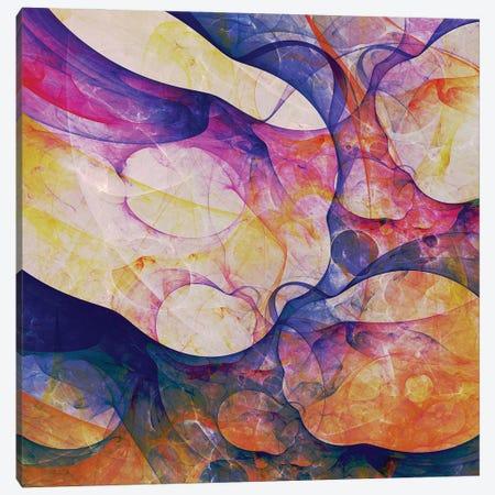 Corals Shapes Canvas Print #AEZ77} by Angel Estevez Canvas Art Print