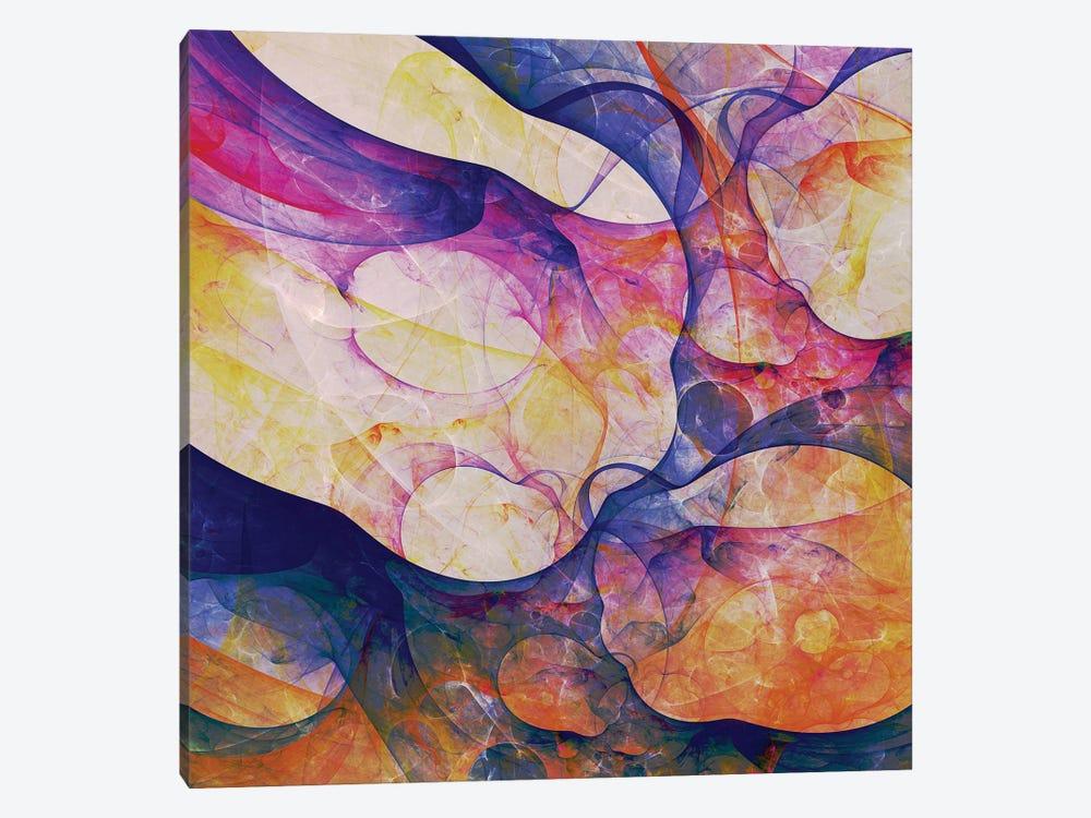 Corals Shapes by Angel Estevez 1-piece Canvas Print