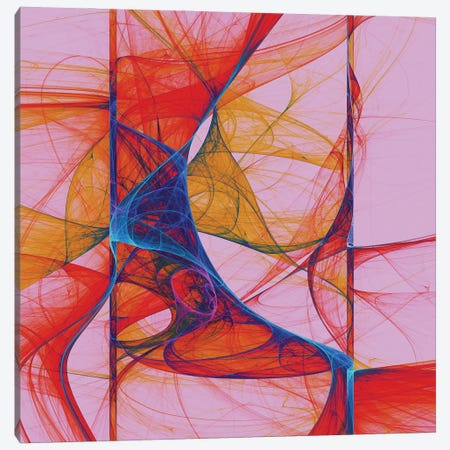 Fluid Forms Canvas Print #AEZ78} by Angel Estevez Canvas Wall Art