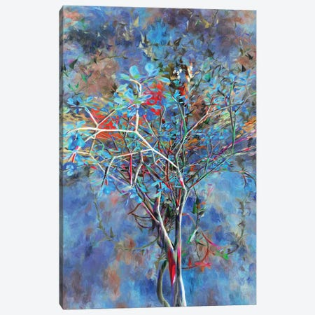 Autumnal Tree Canvas Print #AEZ7} by Angel Estevez Canvas Art Print
