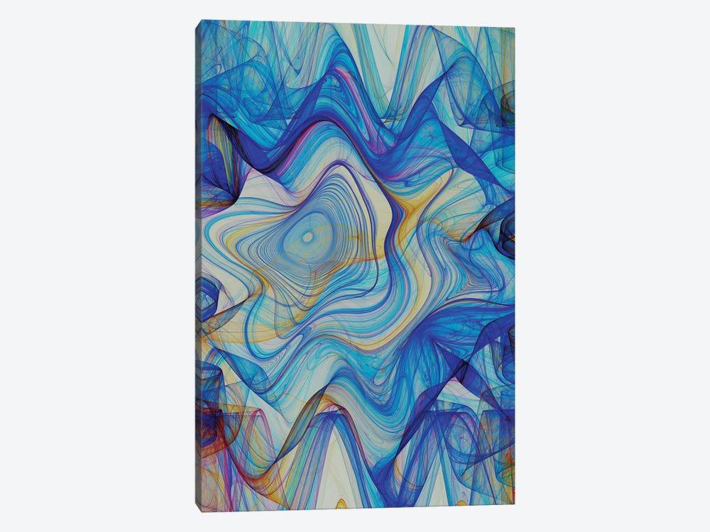 Hypnotic Blue by Angel Estevez 1-piece Canvas Print
