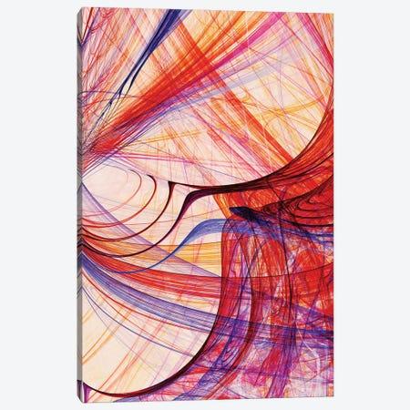 Interlaced Lines Canvas Print #AEZ81} by Angel Estevez Art Print